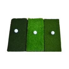 Складной коврик для гольфа на траве с резиновым основанием для дома