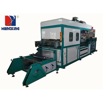 Full-automation plastic vacuum forming machine