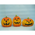 Halloween Pumpkin Ceramic Arts and Crafts (LOE2375-A14)