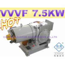 Motor de ascensor de YJF140WL-VVVF con pies de lado
