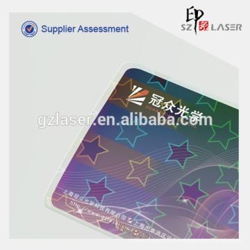 3d эффект Hologram pvc id держатель карты для визитной карточки
