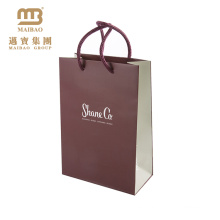 Bolsa de papel estilo romántico para las mujeres