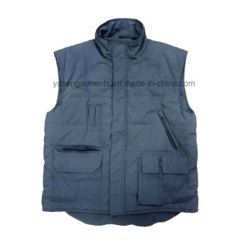 Men′s Tc Body Warmer Padded Padding Winter Sleeveless Vest for Outdoor