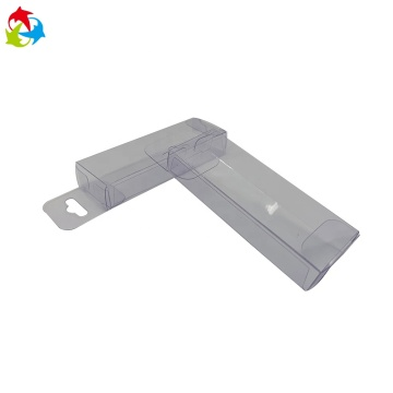 Hanger fish bait PVC plastic clear acetate box