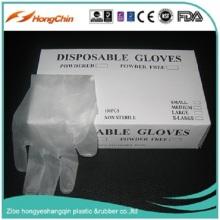 Low Powder Vinyl Gloves