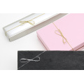 Round metal elastic bow for gifts box