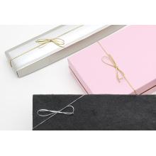 Ronde metalen elastische strik voor geschenkdoos