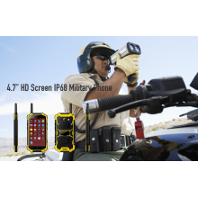 4.7 HD Screen IP68 telefone militar