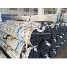 Tubo de aço galvanizado / tubo de aço galvanizado / galvanizado canalização / Zn revestido-24