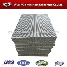 Fabricante chino de núcleo de aftercooler de aluminio / núcleo del refrigerador de aceite / núcleo del radiador de aceite