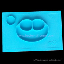 2016 fashion Toddler Dinner Silicone Mat