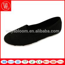 массивные черные однотонные туфли из холщовой ткани
