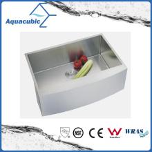 Évier de cuisine en acier inoxydable à bas étage de luxe Undermount (ACS3320A1)