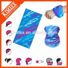 Bandana multifuncional elástica personalizada tubular personalizada