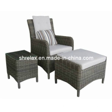 Meubles jardin Patio en osier rotin chaise causale