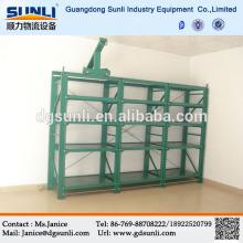 Estante de acero personalizado modificado para requisitos particulares del molde del almacenamiento del cajón del proveedor de China