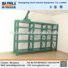 China Supplier Customized Full Open Drawer Storage Mould Steel Rack