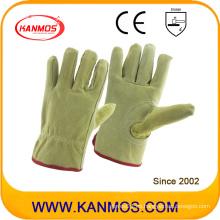 Industriales de seguridad Pig Split Drivers guantes de trabajo de cuero (21202)