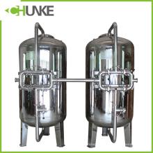 Chunke-Edelstahl-mechanisches Filter-Gehäuse mit Quarzsand