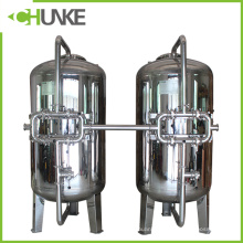 Chunke Stainless Steel Mechanical Filter Housing with Quartz Sand