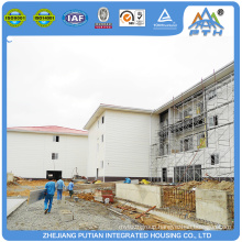 Hot sale economical certificated steel prefabricated hotel building