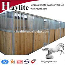 China Indoor steel horse stable with sliding door