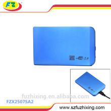 USB 2.0 zu SATA 2.5 Festplattenlaufwerk Caddy Case