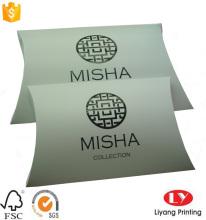black printed white large foldable pillow box