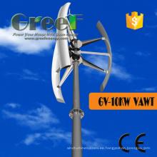 Eje vertical de la turbina de viento 10kw para las ventas calientes