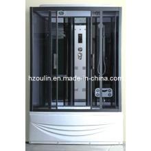 Cabine complète de cabine de cabine de douche de vapeur de luxe (AC-67)