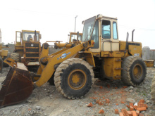USED KAWASAKI 70Z-3 WHEEL LOADER