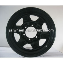 16 inch Car Steel Wheel Rim Wheel Hub for Middle East