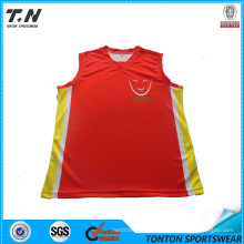 Custom 100%Polyester Basketball Jersey, Basketball Uniforms