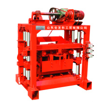 the manufacturer has a large stock of automatic concrete brick making machines