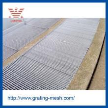 Grille de plancher en acier / grille de barre en métal