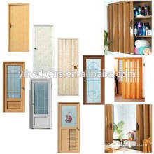Hot sale cheap pvc bathroom door