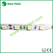 60pcs SMD 5050 12v 24v solo color / RGB / RGBW 4 en uno / RGBWW 5 en una tira llevada flexible