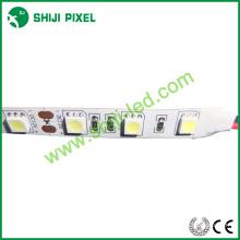 60 pcs SMD 5050 12 v 24 v única cor / RGB / RGBW 4 em um / RGBWW 5 em uma tira conduzida flexível