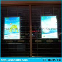 Caja de luz interior del marco del cartel de Acrylc LED