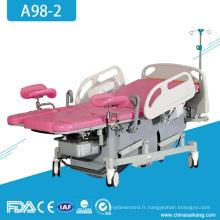 A98-2 Hospital Gynécologie Obstétrique Ordinaire Livraison Parturtion Table