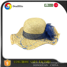 wholesale 100 cotton straw hat with CE certificate