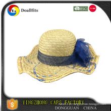 100 chapéus de palha de algodão com certificado CE