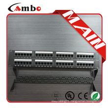 Good price &soonest delivery Cat5e/cat6 with jacks 24/48 Best Price 1u ethernet patch panel