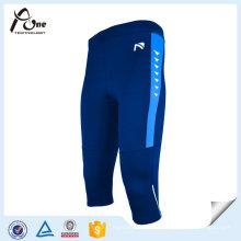 Desgaste feito sob encomenda da aptidão da forma do corpo das calças justas do Spandex para homens