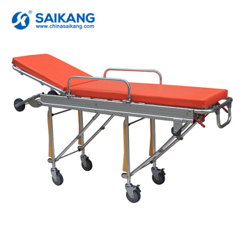 SKB039(D) Stainless Steel Patient Emergency Stretcher Trolley Price