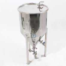 Trémie de fermentation à 20 gallons en acier inoxydable