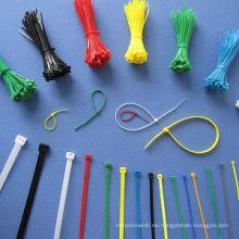 Ataduras de cables de nylon autobloqueadas