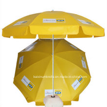 Promotional Polyester Standard Size Beach Umbrella