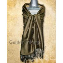 Тряпочная вискозная пашминовая шаль