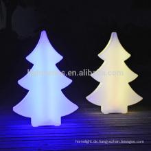 OEM-Nachtlicht für Weihnachten 3d Dekoration led Weihnachtsbaum Nacht leichte Outdoor-Weihnachtsbaum